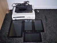joblot tablet xbox PlayStation tom tom keyboard (faulty)