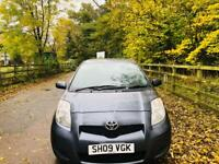 TOYOTA YARIS 2009 5DR TAX £30/ YEAR 12 MONTH MOT HPI CLEAR IDEAL FIRST CAR CHEAP TO INSURE