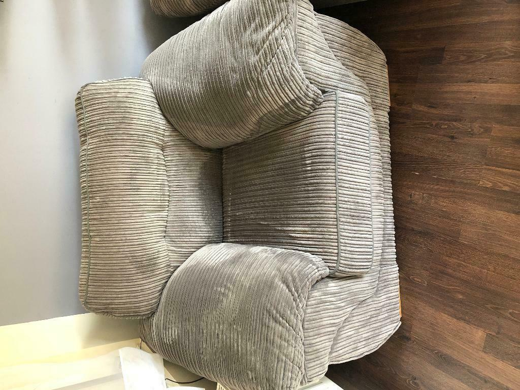 Oak Furniture Land Annabelle Arm Chair In Orlando Fabric