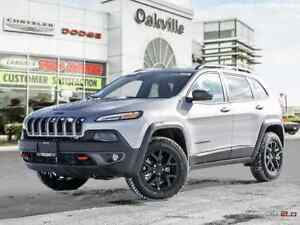 2018 Jeep Cherokee TRAILHAWK | LEATHER PLUS | DEMO | BLIND SPOT