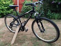 "Ridgeback MX2 Mountain Bike, Black, Size XS, 26"" wheels, Suit Child / Small Adult"