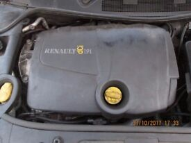 Renault 1.9 DCI Engine Complete Minus (Gearbox and Starter) Only 89K 2004