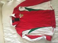 Welsh rugby jersey women's 8-10