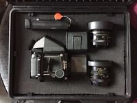 Mamiya RB67 Pro-S w/ 90mm f/3.8, 127mm f/3.5 lenses, 120 back, Polaroid back, and more!