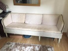 Off White Sofa for Sale with Cushions