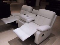 *** BRAND NEW VENICE RECLINER SOFA SET (3+2) ON SPECIAL STOCK CLEARANCE OFFER