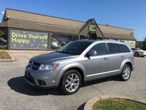 2017 Dodge Journey GT / 7 passenger / leather / awd / v6