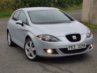 Immaculate one owner 2006 SEAT Leon 2.0 16v Tdi Sport 5dr trade in considered, credit cards accepted