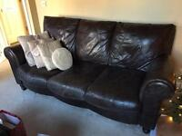 Leather sofas **need to sell urgently**