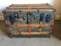 Steamer chest for sale