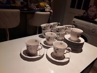 63 Piece Nikko China Dinner & Tea Set.