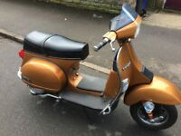 VESPA MK1 T5 much sort after scooter in great condition recent M.O.T. TO March 2019