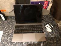 Apple Macbook 12 inch Retina 1.1 GHz 256gb HDD 8gb Ram Early 2015 Model