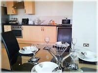 Short Term Short Let Serviced Apartment In Manchester City Centre, Clean & Tidy, Fully Furnished