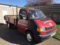 Volkswagen T4 Transporter Flatbed Truck may part/ex REDUCED !!
