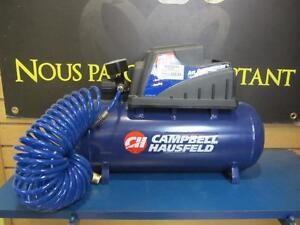 Compresseur bleu de marque Cambell