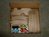 IKEA Wooden Train Set