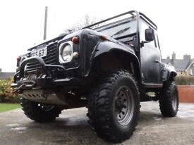 """Land Rover Coil Sprung 88"""" V8. 3.9 EFI Galvanised Chassis. rollcage winches front and rear"""