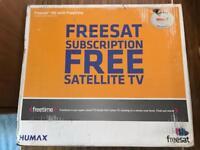 Humax Freesat+ HD with Freetime 1TB Box