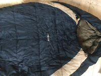 Mummy sleeping bag, special fiber technology for greater warmth! Hardly used.