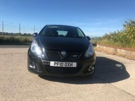 Vauxhall Corsa VXR - Low mileage, black. 1.6 Turbo.