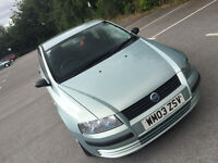 FIAT STILO 1.2 LOW MILAGE 5 doors REALLY GOOD CONDITION BARGAIN