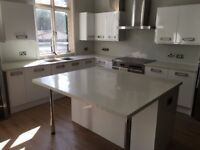 Granite and quartz worksurface installation and repairs