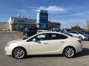 2012 Buick Verano LEATHER 1SL, SUNROOF, LOCAL TRADE!!