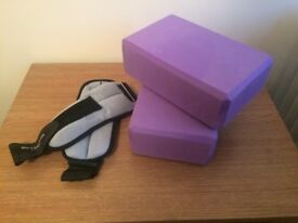 1kg Ankle Weights & Yoga Blocks