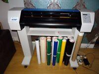 Summa Plotter Vinyl Cutting Package