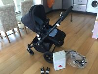 Bugaboo cameleon3 all black- immaculate condition