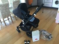Bugaboo cam3 all black- immaculate condition