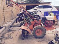 Rotavators grass cutter weed killer Machines