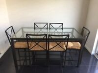 Dining Table with 6 chairs £20.00