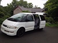 LUCIDA EMINA 99/2000 V REG MODEL 22 TD/MODERN STYLISH LOOKING DAY SURF MPV VAN/GRANVIA/mazda bongo