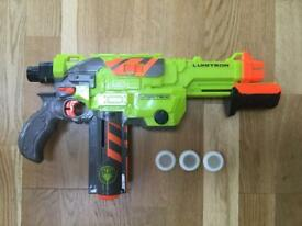 Nerf gun - lumitron vortex. Selling for £60 on Amazon.