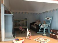 Dolls house emporium dolls house with unbuilt conservatory £130 ONO