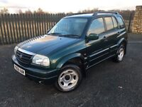 2001 Y SUZUKI GRAND VITARA 2.0 16v 5 DOOR 4x4 JEEP - *OCTOBER 2017 M.O.T* - ONLY 3 FORMER KEEPERS