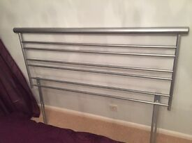 Metal headboard for king size bed