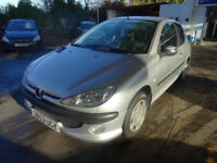 PEUGEOT 206 1.1 ENTICE 3d 60 BHP ++TIMING CELT CHANGED++ NEW CLUTCH 1 PREVIOUS KEEPER ++