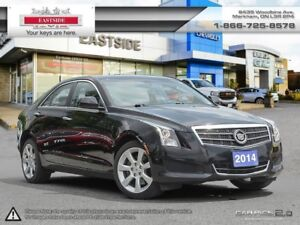 2014 Cadillac ATS INTREST RATE AS LOW AS 0.9%