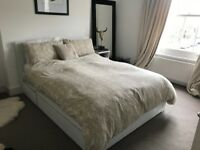 IKEA Brusalli Double Bed Frame & Mattress (RRP approx. £700)