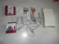 Nintendo Wii and accesories