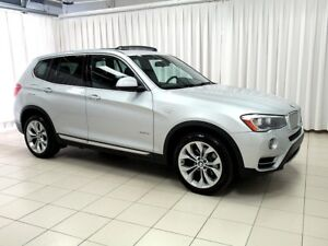 2015 BMW X3 28i x-DRIVE SUV w/ REAR CAMERA, PANORAMIC ROOF & H
