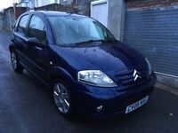 2008 Citroen C3 1.6 hdi £30 tax spares or repair drives great but no mot please read the fault!