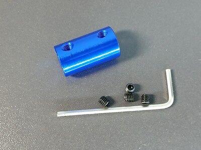 5mm X 8mm Rigid Shaft Coupler Stepper Motor Cnc Coupling Reprap Prusa Mendel 3d