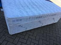 Single divan bed with mattress-£35 delivered
