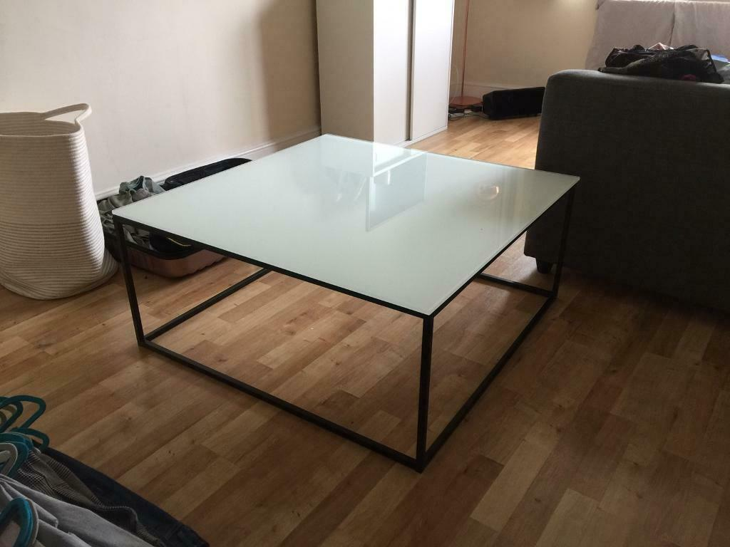 Sensational Black Square Coffee Table Glass Top Interior Designer In East Dulwich London Gumtree Beutiful Home Inspiration Xortanetmahrainfo