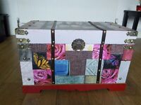 Beautiful bespoke box can be used for variety of purposes around the home
