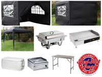 Burger or Hot Dog PopUp Stand plus equipment
